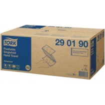 CE290190 - H3 - Tork Flushable Singlefold Hand Towel Advanced 2lgs Wit